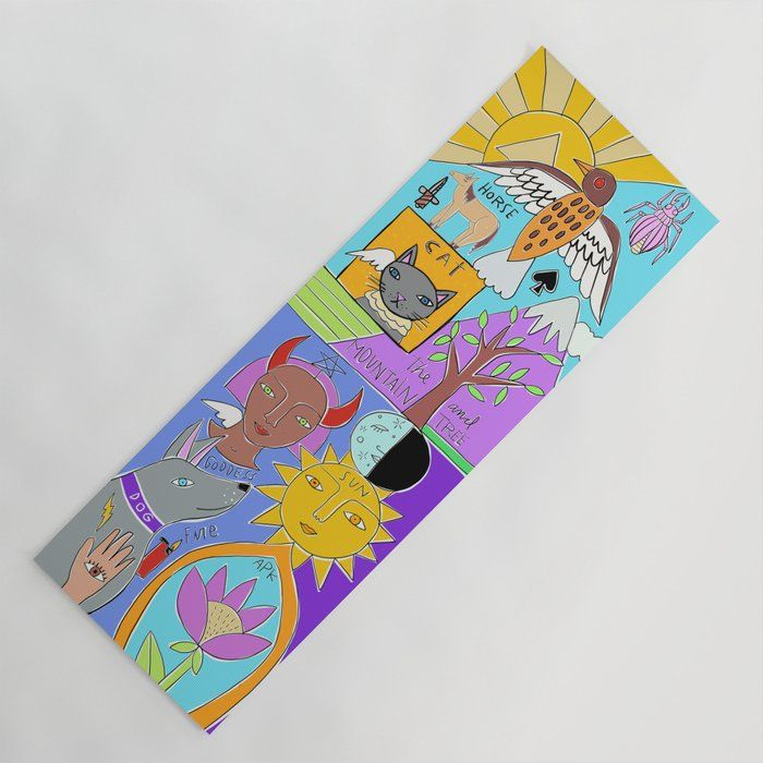 Strike Your Sun Salutation In Style Our Yoga Mats Are Lightweight Yet Durable Just Toss It Over Your Shoulder With The Handy Ca With Images Yoga Mat Create Collage Yoga