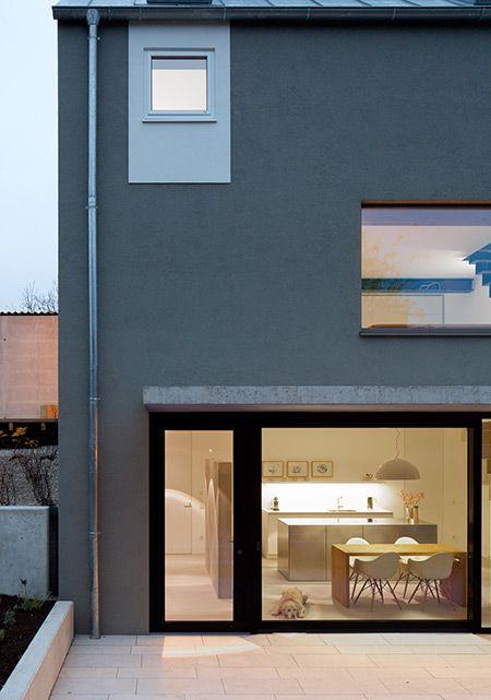 As 57 melhores imagens em Graues Haus no Pinterest Arquitetura - haus ausenfarbe grau