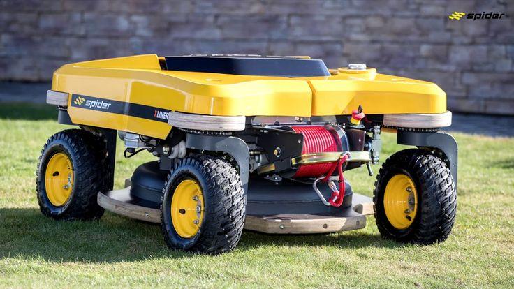 SPIDER MOWER DEMO חיפוש בGoogle Riding lawnmower