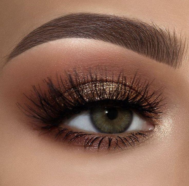 Buy Amazon: amzn.to/31bcjOk Schwle Bronze Smokey Augen Make-up – #Augen #Bronze …