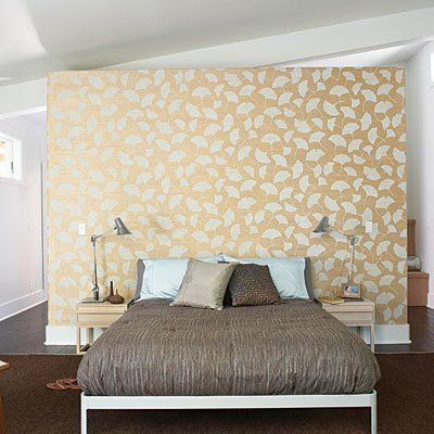 58 best images about false wall behind bed on pinterest for Different headboards