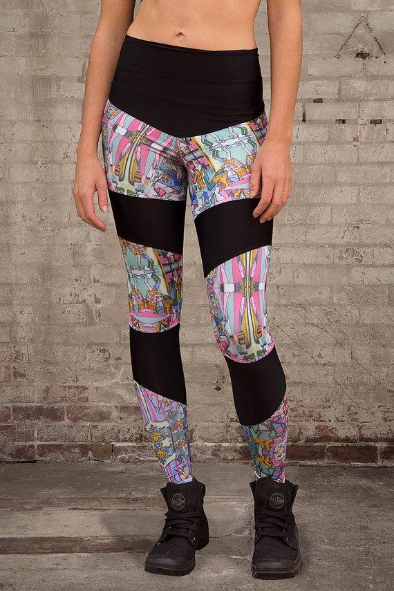 Leggings collants collants pantalons de Yoga de par 3SomeApparel