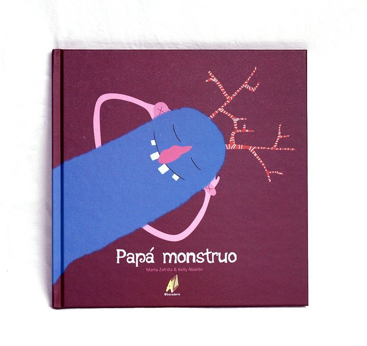 "Álbum ilustrado ""Papá Monstruo"""