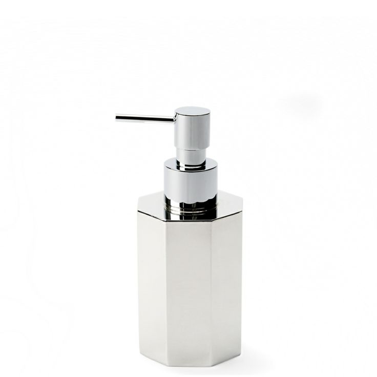 crystal bathroom accessories sets%0A Asscher Soap Dispenser