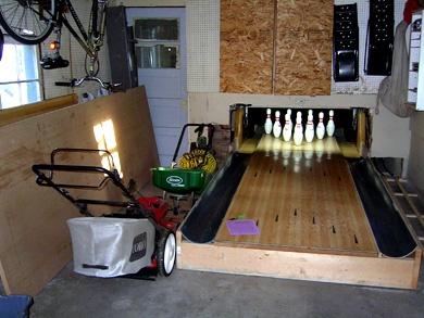 Garage Bowling Alley