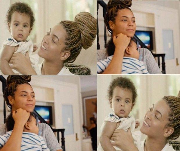 Beyoncé mostra a filha, Blue Ivy, em seu documentário para TV
