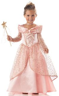 Pretty Little Pink Princess Costume