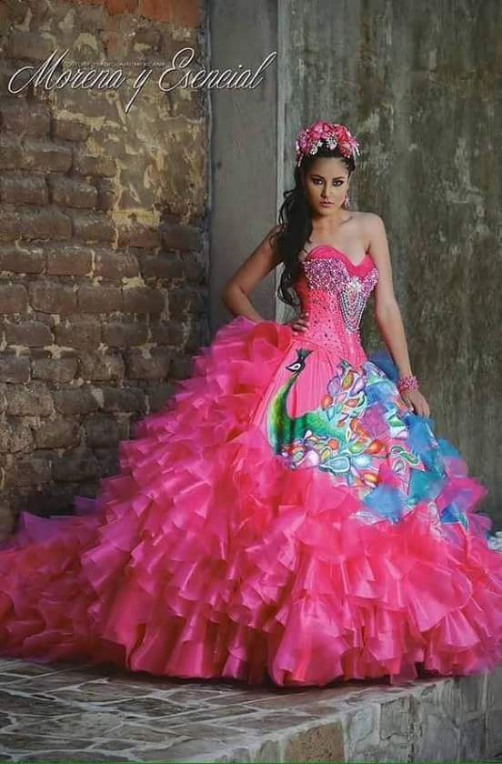 18 best Vestidos para xv años tradicionales images on Pinterest ...
