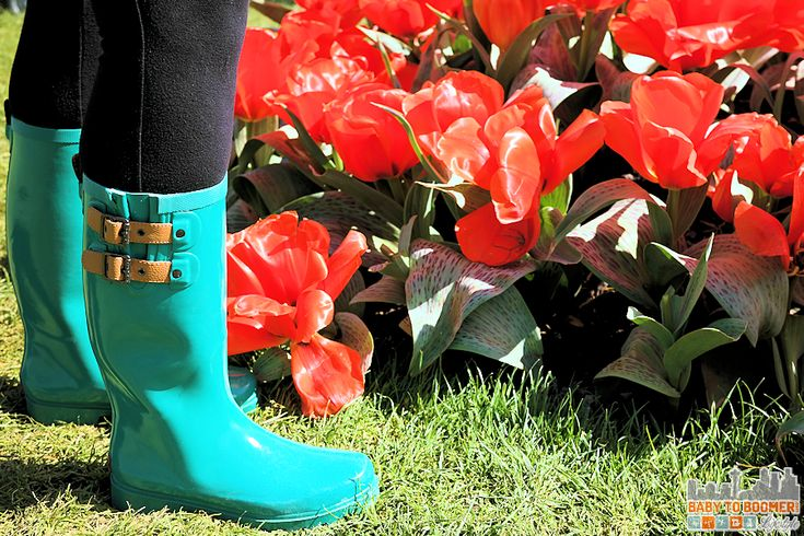 Chooka Boots - Skagit Valley Tulip Festival 2016 - Spring and Fall 2016 Boot Trends: Western and Chooka Boots #TulipBoots ad