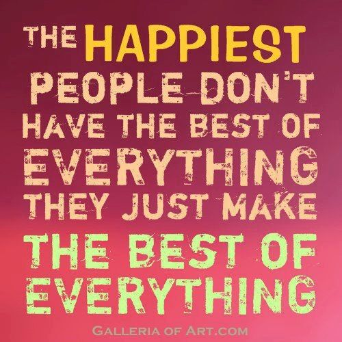 QUOTE OF THE DAY: On the Art of Happiness