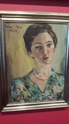 Portrait of a young woman Irma Stern museum