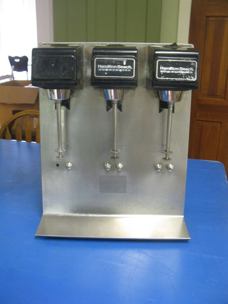hamilton milkshake machine