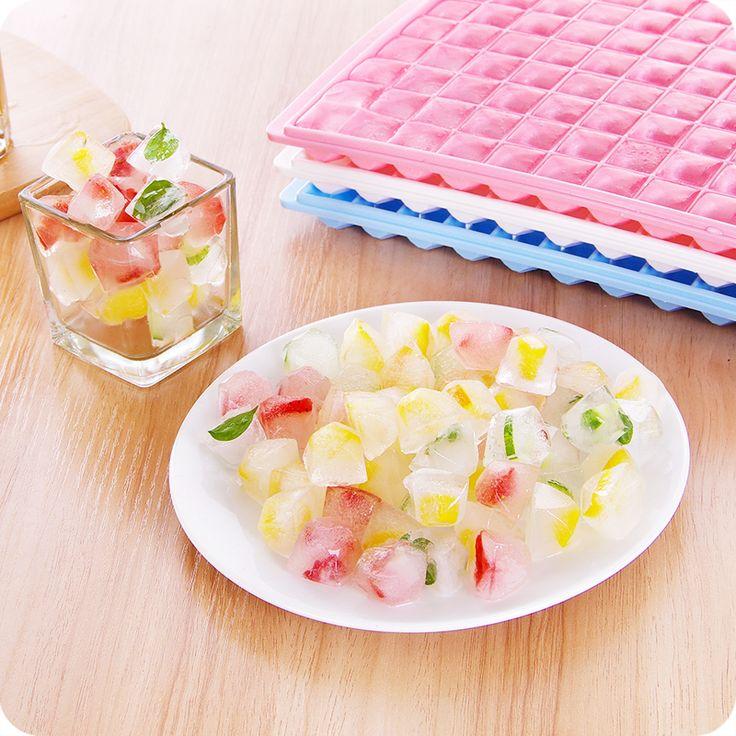 >> Click to Buy << 96 Grids Frozen Ice Mold Box Ice Form Ice Cubes Large Diamond Square Plastic Lattice Ice Box #Affiliate