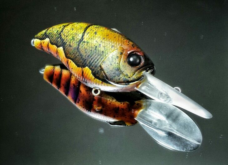 117 best custom painted fishing lures images on pinterest for Fly fishing lures for bass