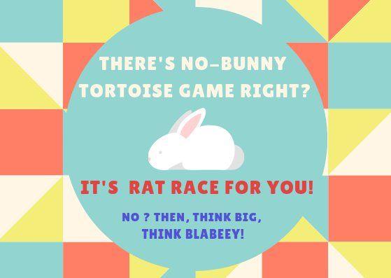 The Blabeey App (Blabeey_App) Twitter App, Rat race
