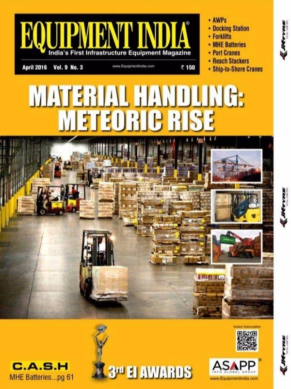 Equipment India April 2016 Issue- 3rd EI Awards  #EquipmentIndia #MaterialHandling #EIAwards #ebuildin @equipmentindia
