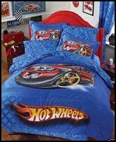 Hot Wheels Dragster  Bedding race car theme bedrooms