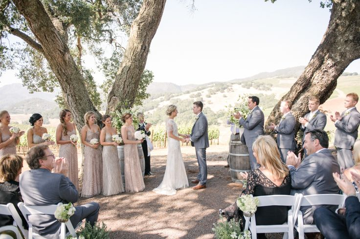 Event Planning: Cole Drake Events - http://www.stylemepretty.com/portfolio/cole-drake-events Wedding Dress: Jenny Packham - http://www.stylemepretty.com/portfolio/jenny-packham Groomsmen Attire: J.Crew - http://www.stylemepretty.com/portfolio/jcrew Read More on SMP: http://www.stylemepretty.com/2016/02/11/sonoma-vallery-wedding-at-kunde-family-winery/