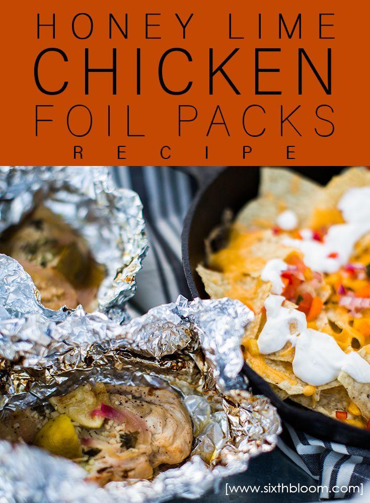 Honey Lime Chicken Foil Packs Recipe
