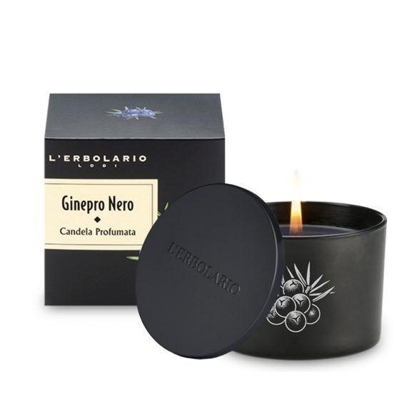 ginepro nero candela profumata
