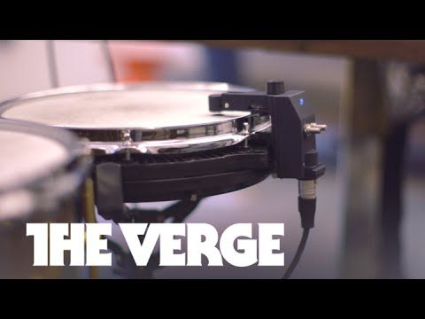 This tool lets real drums play any kind of electronic beat