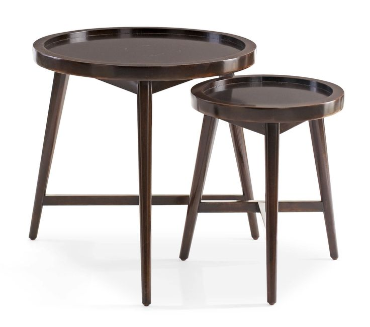 Shop For Bernhardt Interiors Putnam Round Table Set Of And Other Living Room Tables At Finesse Furniture In Edmonton Alberta Canada