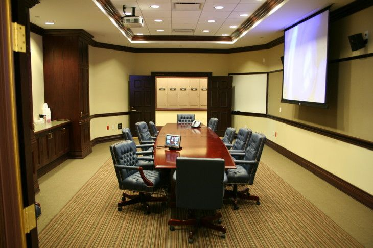 Modern Office Meeting Room Design Inspiration With Ceiling Lighting Ideas - pictures, photos, images