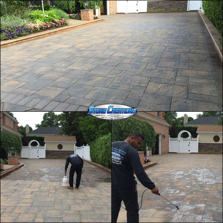 Long Island Paver Cleaning U0026 Sealing. Www.stonecreationsoflongisland.net  #longisland #pavercleaning