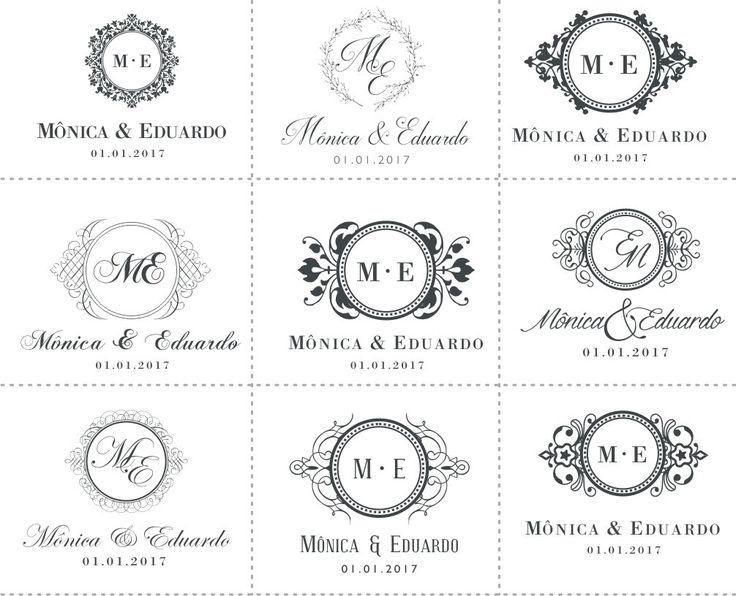 Best 25+ Monograma casamento ideas on Pinterest