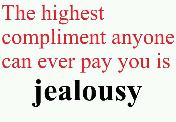 True confidence leaves NO room for jealousy. When you know you're great there's no need to hate <3