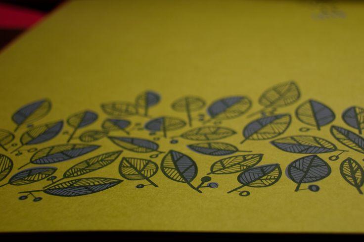 New, leafy pattern