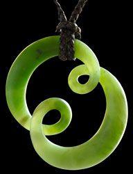 Jade Twist by Kerry Thompson.   www.boneart.co.nz