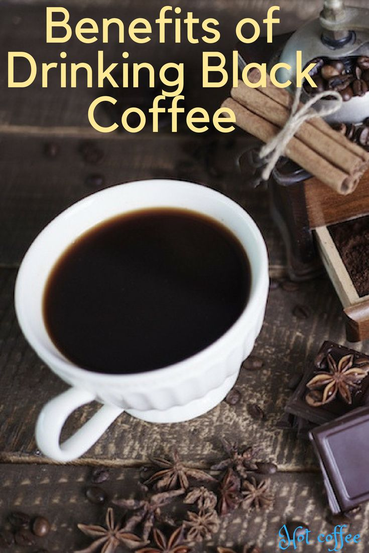 Health benefits of drinking black coffee live a long