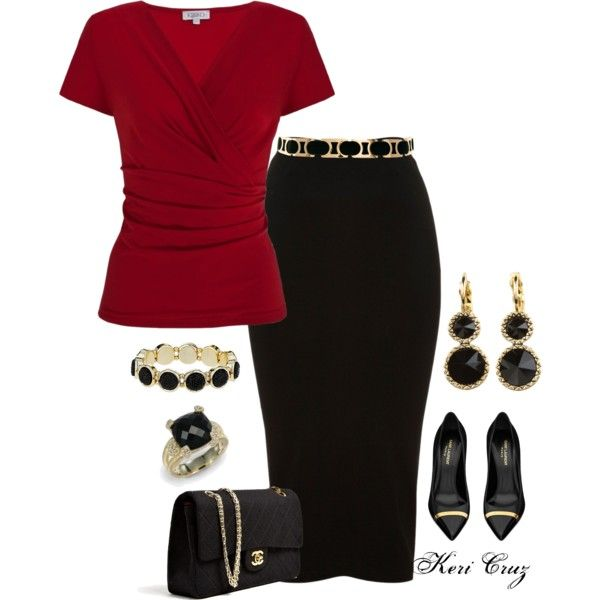 U0026quot;Classy Office Outfitu0026quot; by keri-cruz on Polyvore | My Polyvore Sets | Pinterest | Classy Skirts ...