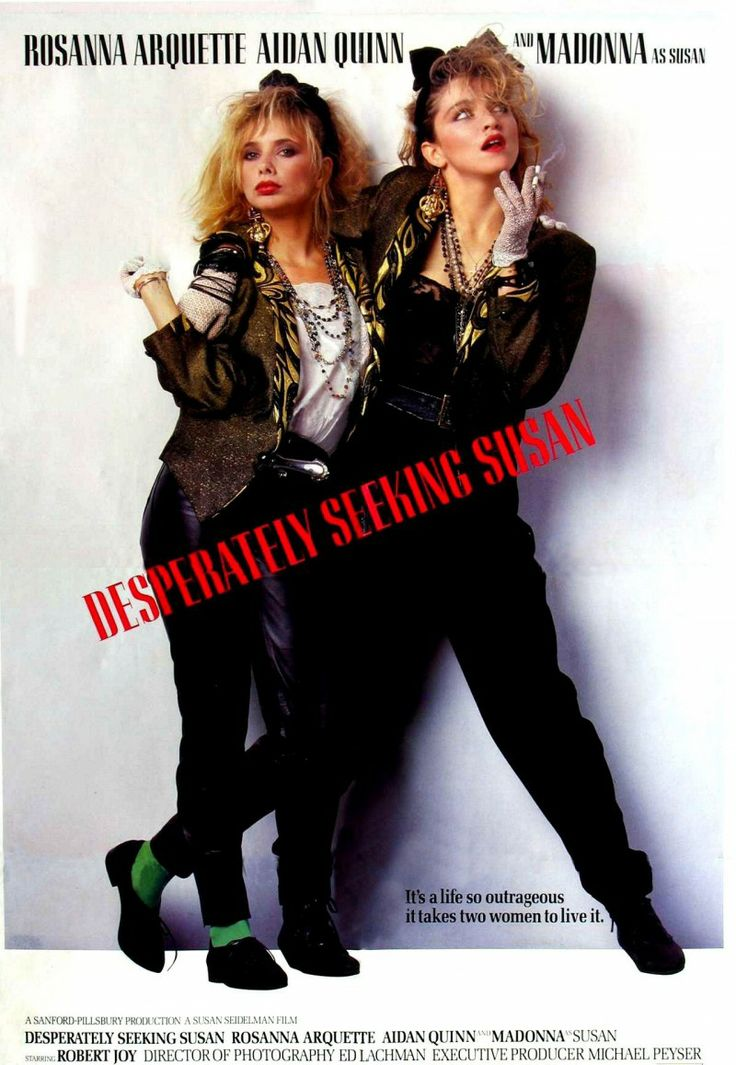 Desperately Seeking Susan. This movie rocked my world. Does anyone know where I can find a jacket like the one Madonna is wearing? Would love one!