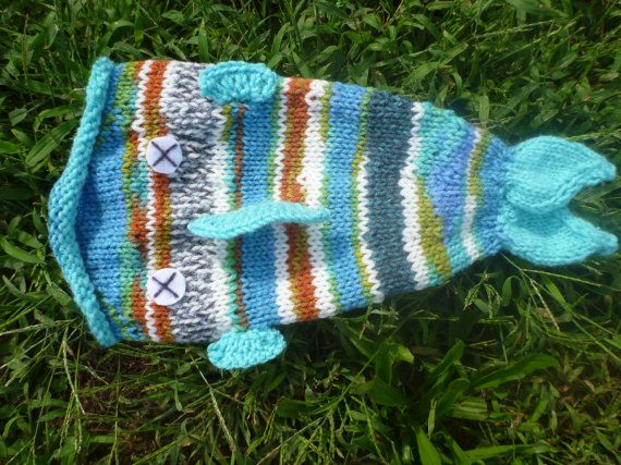 RESERVED  Toddlersized Ugly Blue Dead Fish Hat by Puddlebymarsh, $15.00