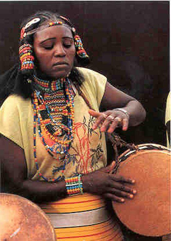 Kunama Musician - Eritrea