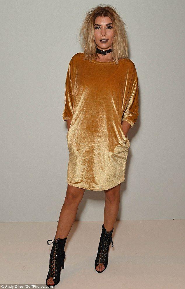 Golden girl:Love Island glamour puss Olivia Buckland made a big statement…