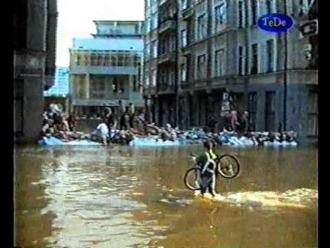 Wrocław Powódź 1997 cz.7