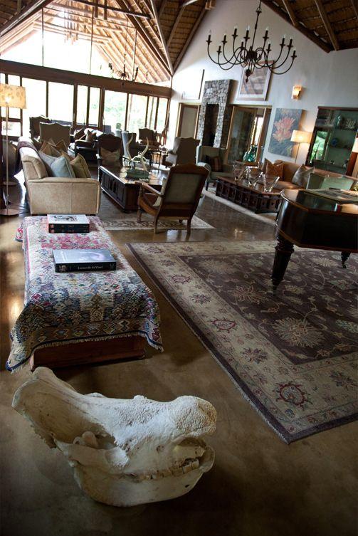 African Art Deco at Karkloof Safari Spa. www.karkloofsafarispa.com
