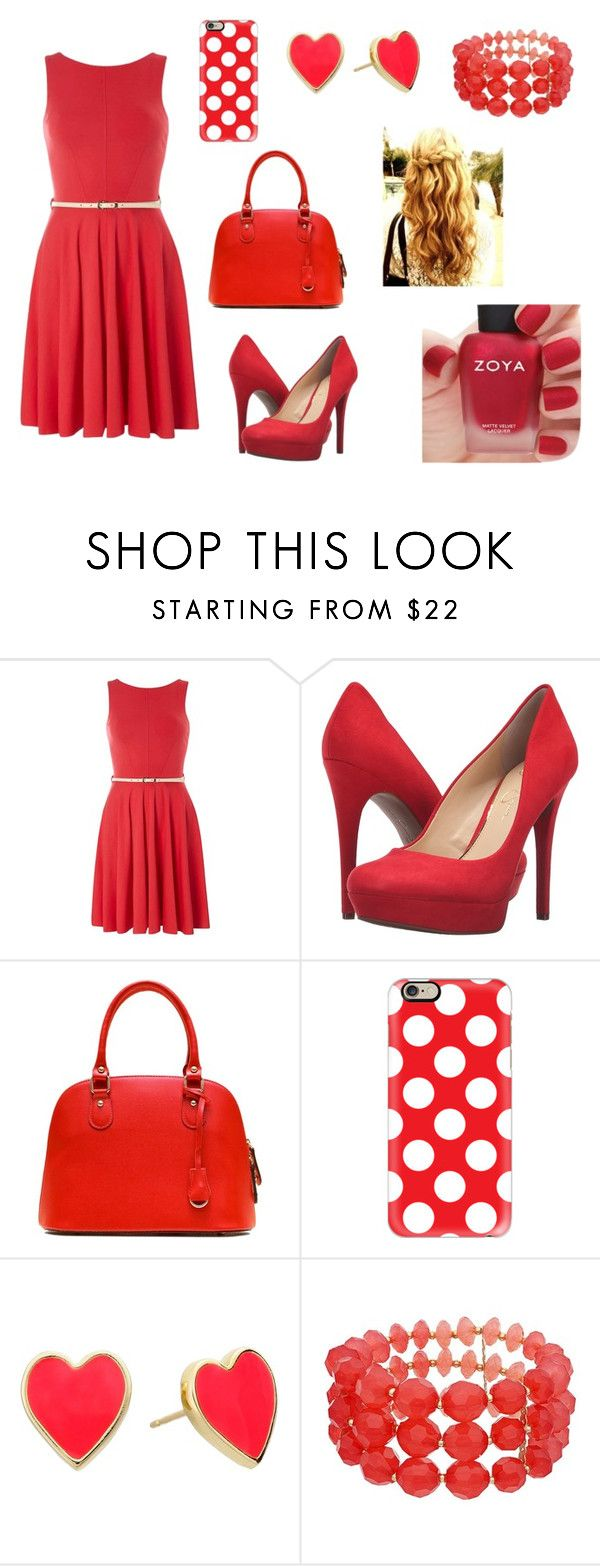 """""""we"""" by aiste-mini on Polyvore featuring Closet, Jessica Simpson, Casetify, Kate Spade and Zoya"""