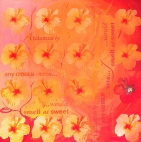 """""""Hibiscus By Any Other Name"""" by Samantha Tipler at De La Liff"""