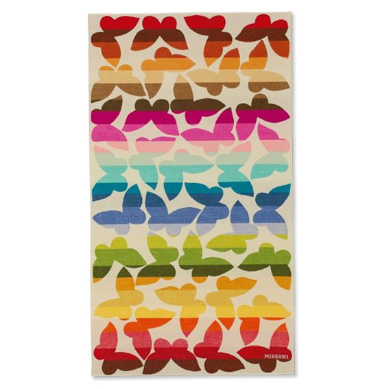 From Gucci to Pucci, the Prettiest Designer Beach Towels - Missoni Jamelia Towel  - from InStyle.com