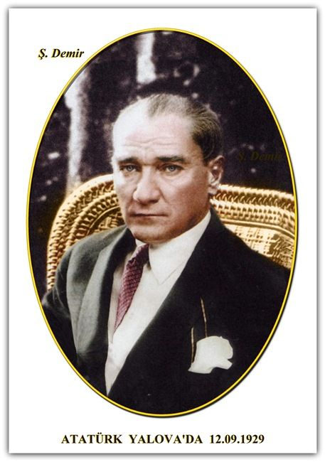 Atatürk Yalova'da. 12.09.1929