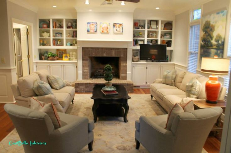 1000 ideas about tv placement on pinterest corner - Large living room furniture placement ...