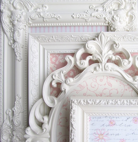 277 best Shabby frames images on Pinterest   Home ideas, Picture ...