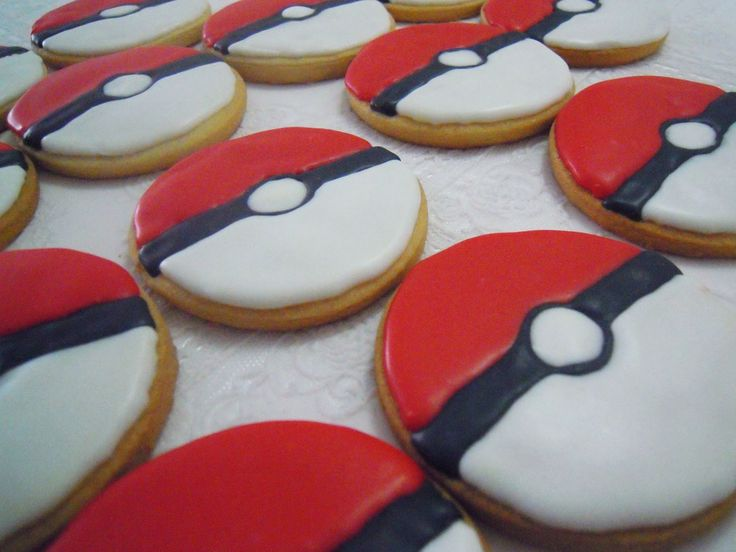 Galletas Pokémon!! + Tutorial - Cupcake Creativo