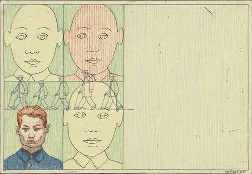 Ilya Kabakov, 1968. Art Experience NYC www.artexperiencenyc.com