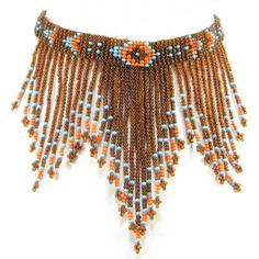 beaded native american choker - Google Search