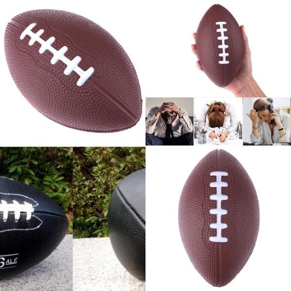 American Football Balls Soft Rubber Af9 American Football No 9 Rugby Ball For Kids Childreteenagers Men Women Sports Rugbys